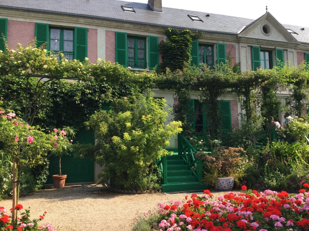 Monet's House in Giverny, Normandy, France in late June 2017