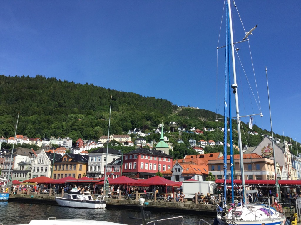 Bergen harbour, Norway